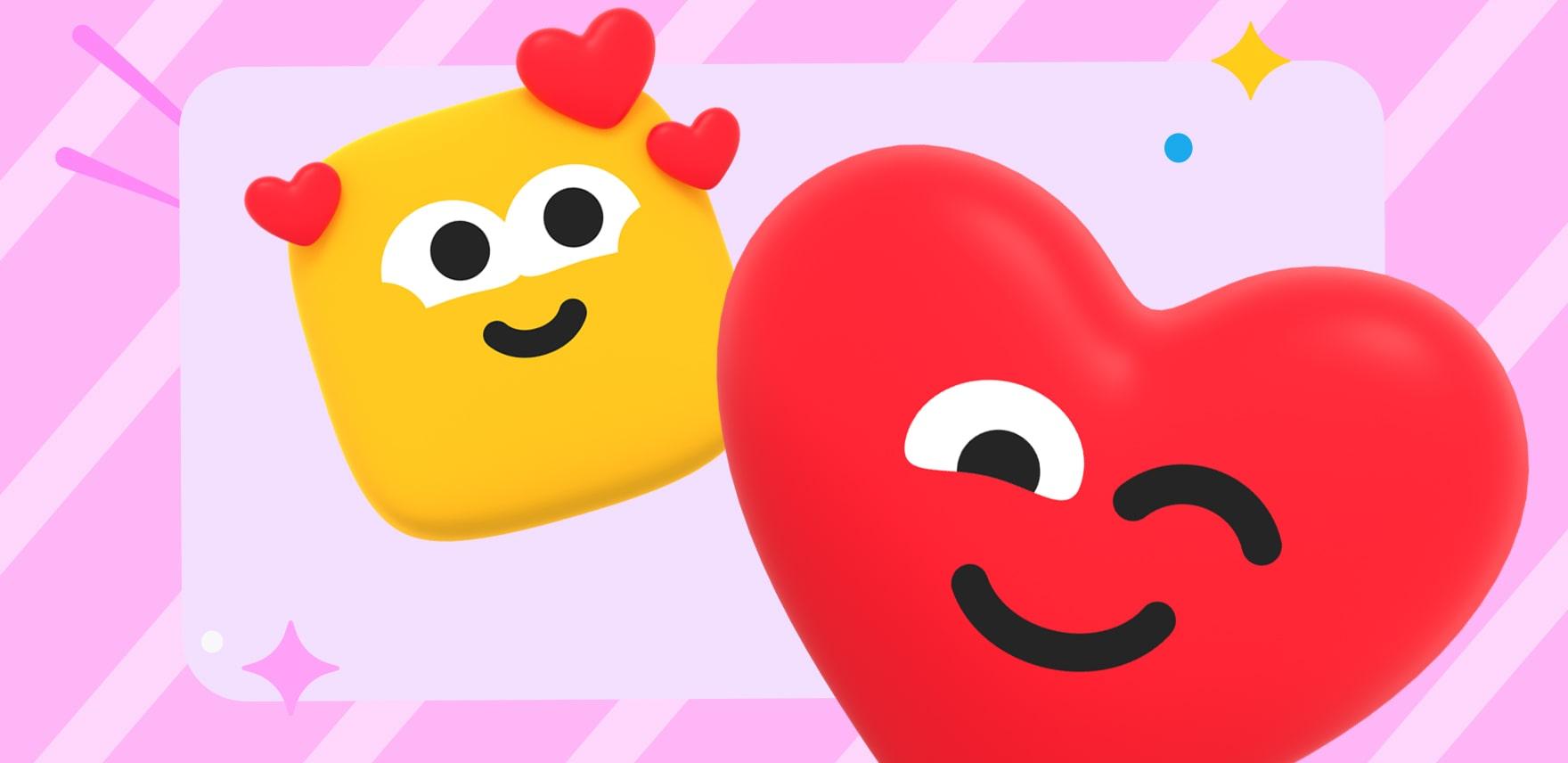 Пользователи Одноклассников смогут отправить друг другу талисманы любви в День святого Валентина