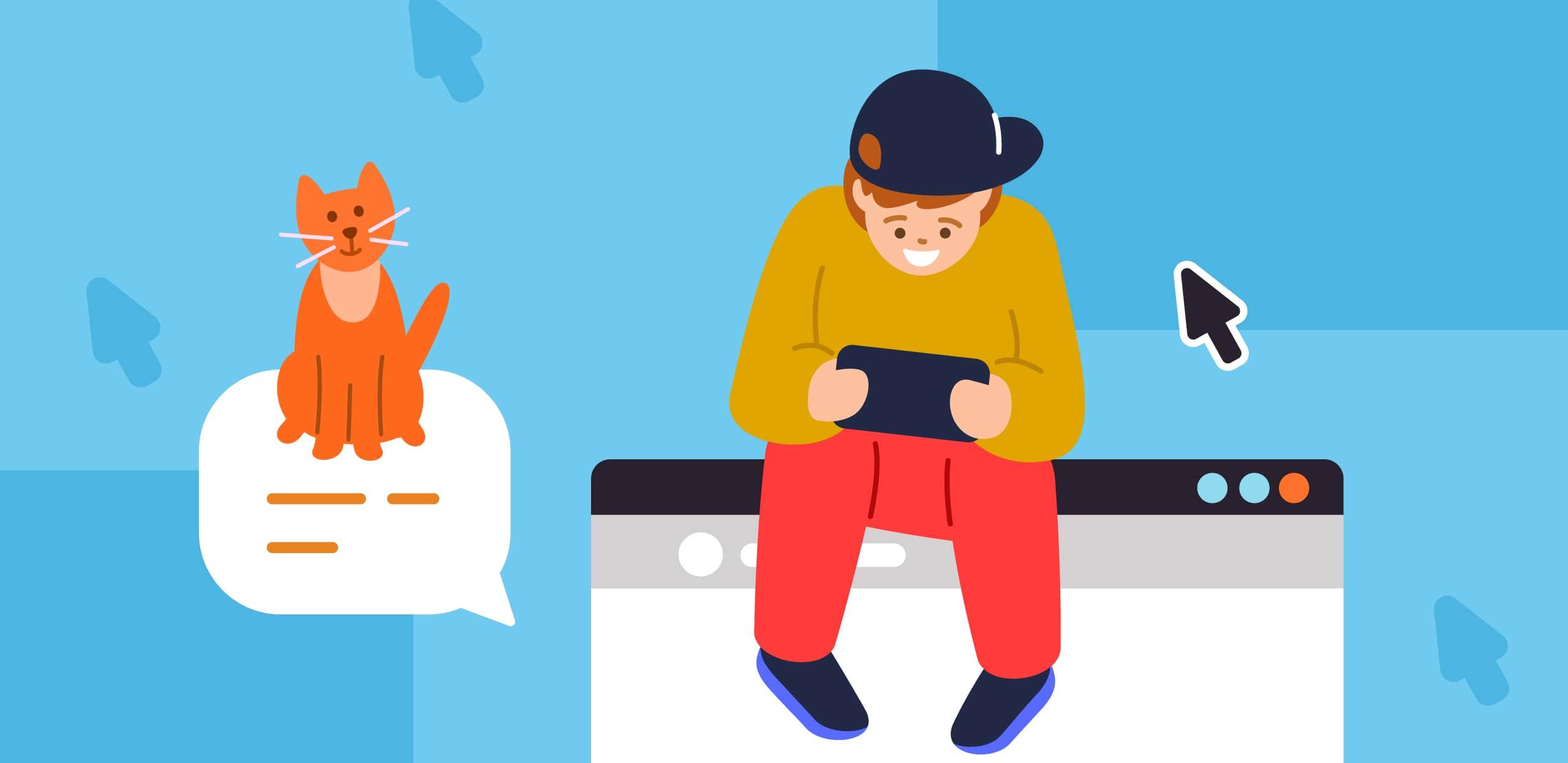 Исследование ОК: 51% пользователей рунета регулярно говорят с детьми о безопасном поведении в сети